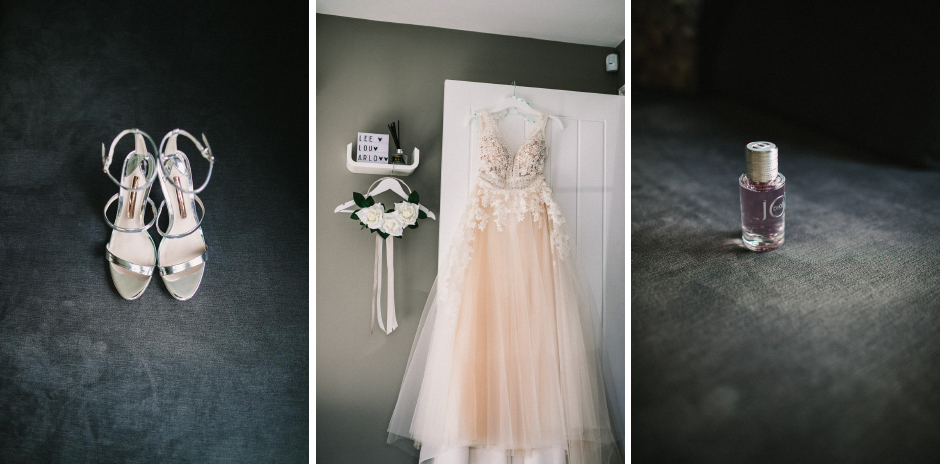 wedding-shoes-and-wedding-dress